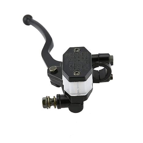 couleur: Noir Frein de moto Levier de ma/ître-cylindre avant droit pour Suzuki GS125 GN125 GN250 GS250 GS GN 125 250 Noir