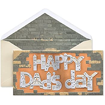 Amazon amazon gift card in a premium greeting card by american greetings dads fathers day card with foil 6051669 m4hsunfo