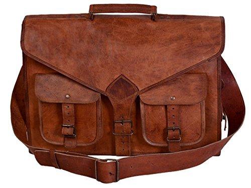 Leather bag Fair Deal / Big messenger bag / andy travel gear / satchel bag / unisex bag / office briefcase / Laptop bag / collage bag / brown bag