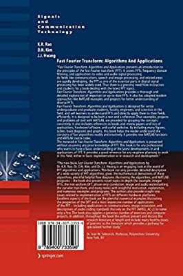 Fast Fourier Transform - Algorithms and Applications: K  R