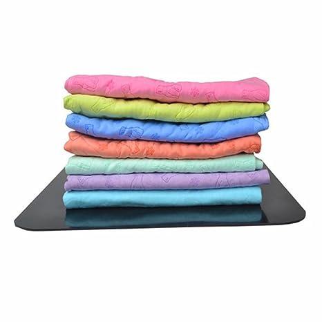 Pet seco toalla, no coffsky Ultra absorbente de microfibra sin pelusa Pet toallas de secado de ...