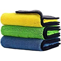 Car Drying Towel,ShowTop Free Microfiber Cleaning Cloth,Premium Professional Soft Microfiber Towel,Super Absorbent…