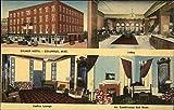 Gilmer Hotel Columbus, Mississippi Original Vintage Postcard
