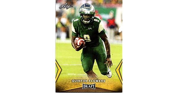 Amazon.com  2018 Leaf Draft Gold  45 Quinton Flowers South Florida Bulls  Football Card  Collectibles   Fine Art 87c21c0ff