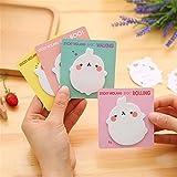 SINDBIN 4 Colors Cute Cartoon Potato Self-Stick