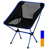 FBSPORT Kuprine Lightweight Portable Folding Camping Chairs with Carry Bag, Compact Backpacking Chair for Beach, Camping, Backpacking & Outdoor Festivals