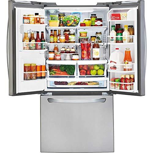 LG LFXS24623S  24.2 cu.ft. Ultra-Capacity French Door Refrigerator,...