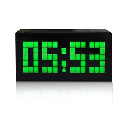 YOUNIU-Alarm Clocks Alarma Reloj Digital Reloj de Mesa de una Sola ...