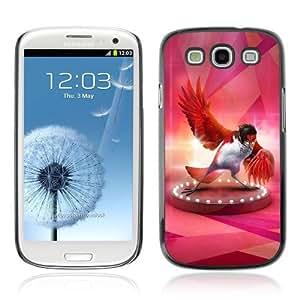 YOYOSHOP [Fabulous Red Bird] Samsung Galaxy S3 Case WANGJING JINDA
