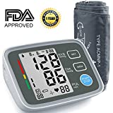 Blood Pressure Monitor, AlphaMed Upper Arm BP Monitor Blood Pressure Cuff with Memory Storage Pulse Diastolic Systolic Measurement and Large Screen Displaying