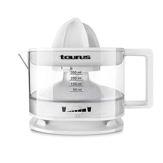 Taurus TC-350 Exprimidor, 800 W, 0.35 litros, PU, Color blanco