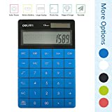 DL 1209 dual power 8 digit calculator (1589 blue)