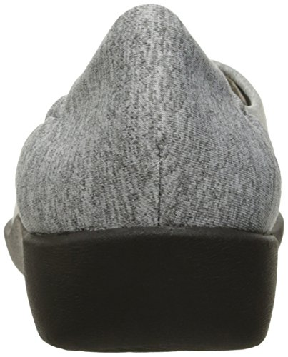 Fabric de soporte Heathered Sillian Jetay cloudsteppers Grey Clarks mujer XnH4q8