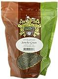English Tea Store Loose Leaf, Sencha Green CO2 Decaffeinated Tea Pouches, 4 Ounce