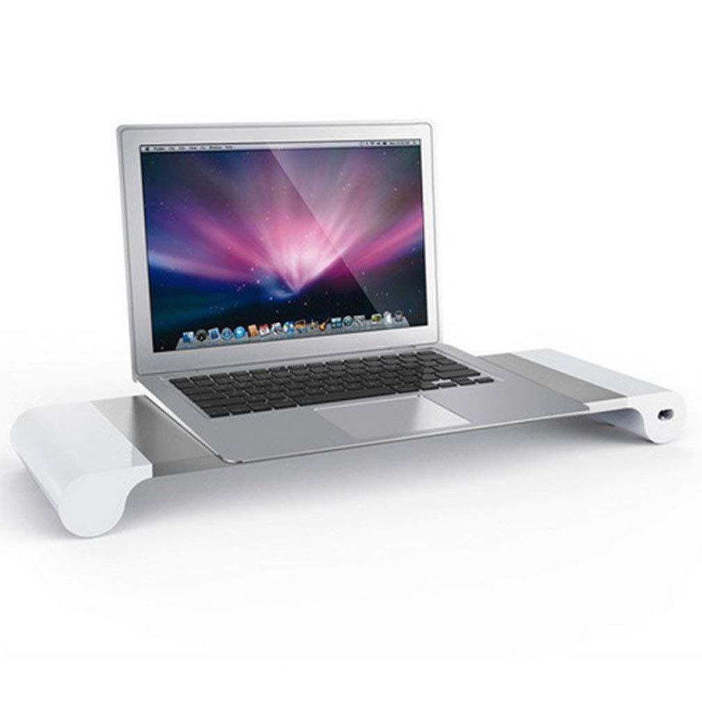 Soporte de Base de aleación de Aluminio Smart 4 Puerto USB Soporte de Cargador, Portátil Base Inteligente Soporte, Soporte de Cargador de Escritorio para ...