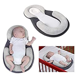 BabyFied Baby Bassinet for Bed   Diaper ...