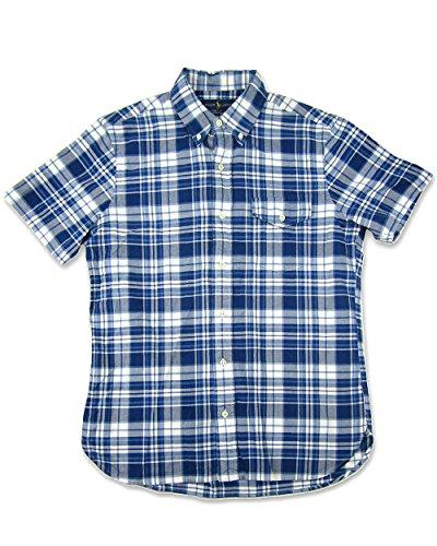 Polo Ralph Lauren Men's Short-Sleeved Plaid Oxford Shirt (Small, - Mexico Ralph Polo Lauren