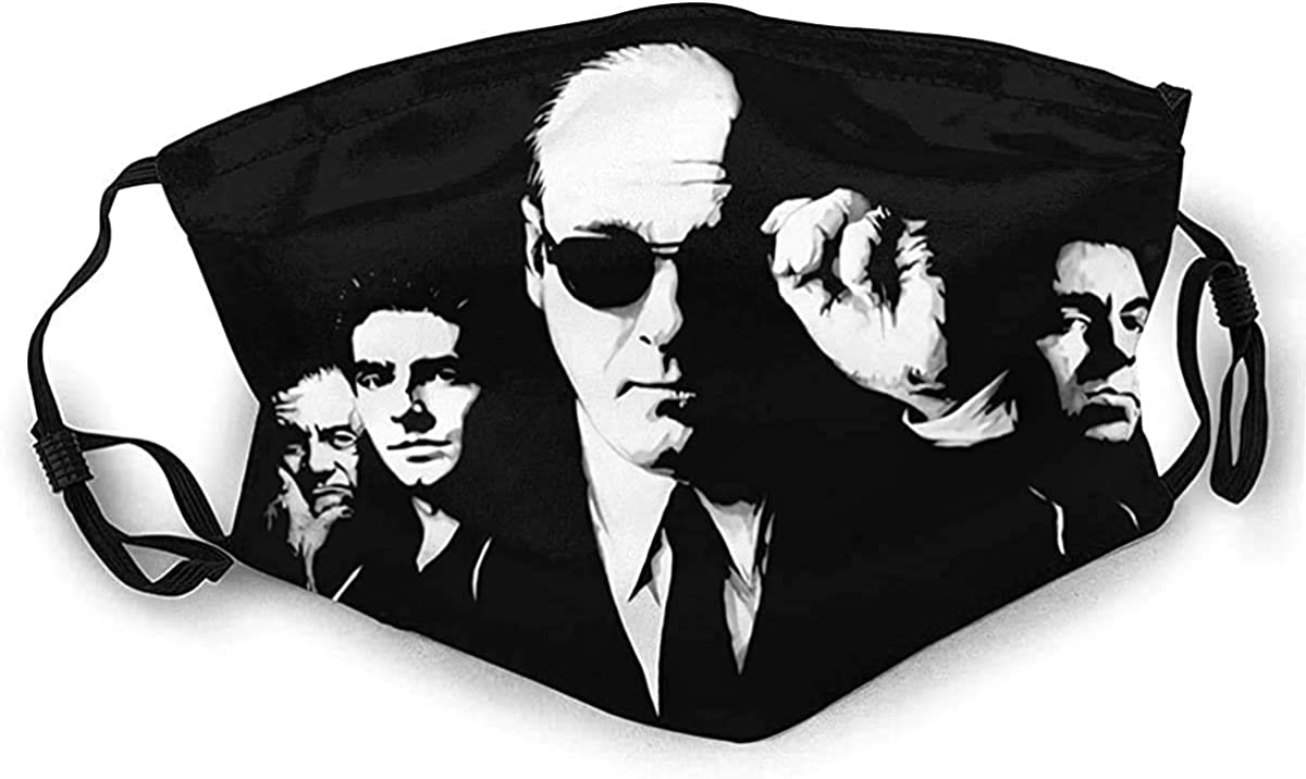 The Sopranos Reusable Premium Face Mask Cover with Filters