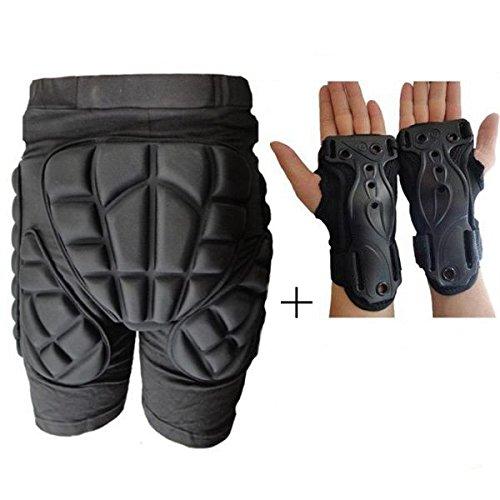 ADAALEN 2.9cm Thick Ski Skifahren Hip Handgelenkstütze Palm Schutz Sport Schutzausrüstung