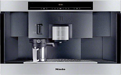 Miele CVA 3660 Máquina espresso 1.5L 20tazas Acero inoxidable - Cafetera (Máquina espresso, 1,5 L, Cápsula de café, 2300 W, Acero inoxidable): Amazon.es: Hogar