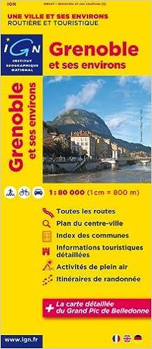 Livre gratuits en ligne 88427 GRENOBLE ET SES ENVIRONS  1/80.000 pdf ebook
