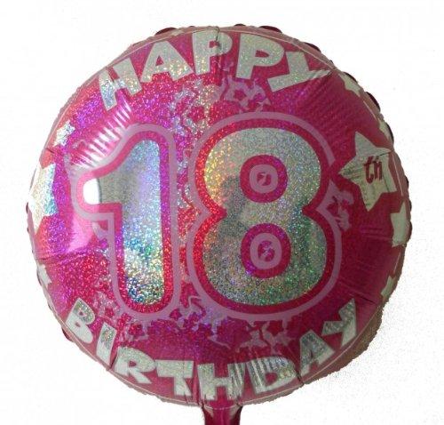 GLOBO 18 Cumpleaños globo de helio con gas relleno Serie ...