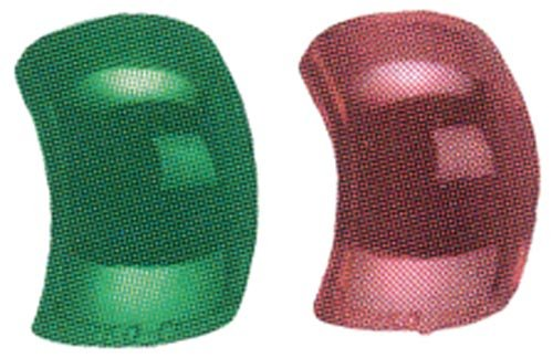 - Perko Replacement Lenses for Side Lights Red/Green 1 1/4
