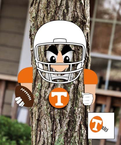 NCAA Player Tree Face Statue NCAA Team: Tennessee