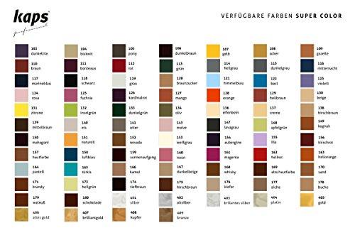 E Spazzola Vernice Cervo 70 nbsp;colori Pelle Super 138 In Color Con Per Borse Scarpe Spugna Kaps Marrone ZqnEAXxPTx
