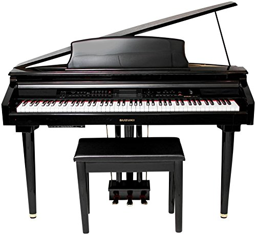 Suzuki Musical Instrument, 88-Key Digital Pianos - Home (MDG-300-BL)