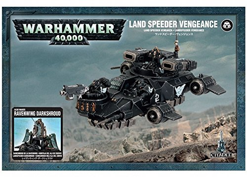 Land Speeder Vengeance Dark Angels Warhammer 40K