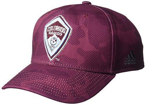 fan products of MLS Colorado Rapids Adult Men MLS SP17 Fan Wear Tonal Camo Structured Adjustable Cap,OSFM,Maroon