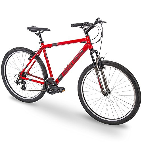 27.5″ Royce Union RMA Mens 21-Speed All-Terrain Mountain Bike, 20″ Aluminum Frame, Trigger Shift, Red