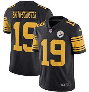d90717273eb ... where can i buy mens juju smith schuster color rush limited jersey  fd3ca 58753 buy nike steelers 7 ben roethlisberger black ...