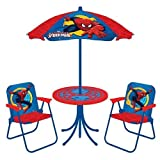 Best Disney Patio Tables - Spiderman New Spring 2018 Spider-Man Classic Patio Set: Review