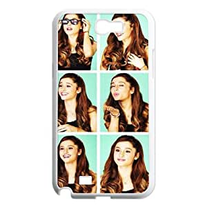 Make Your Own Photos Cover Case for Samsung Galaxy Note 2 N7100 Phone Case - Ariana Grande HX-MI-033996