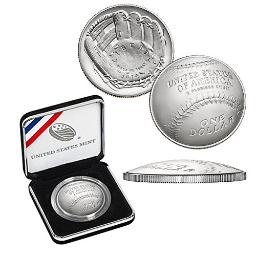 2014 P Commemorative Set Baseball Hall Of Fame Silver Dollar Uncirculated $1 Uncirculated US Mint