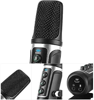 Micrófono Micrófono Condensador USB Viene con una Tarjeta de ...