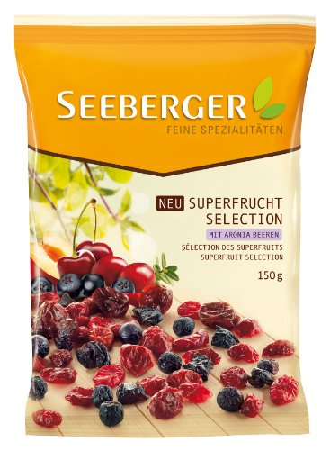 Seeberger Superfrucht Selection, 3er Pack (3 x 150 g)