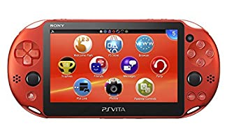 PlayStation Vita Wi-Fi Metallic·Red PCH-2000ZA26 (Japan Import)