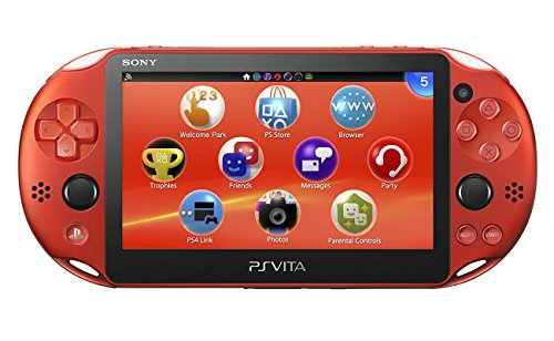 PlayStation Vita Wi-Fi Metallic Red PCH-2000ZA26 Japan Import