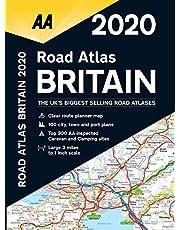 Road Atlas Britain 2020 Spiral bound (AA Road Atlas Britain)