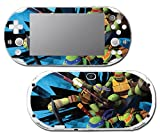 Teenage Mutant Ninja Turtles TMNT Leonardo Leo Shredder Cartoon Movie Video Game Vinyl Decal Skin Sticker Cover for Sony Playstation Vita Slim 2000 Series System