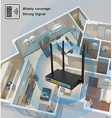 Router WiFi, la Tarjeta Sim Dos Ranuras 300 Mbps 4G LTE módem 3G ...