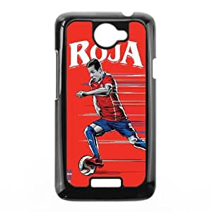 HTC One X Cell Phone Case Black WorldCup Chile O7Q6SO