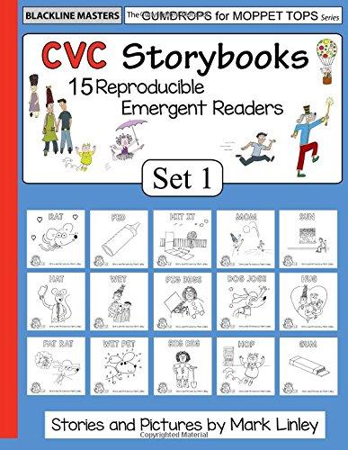 CVC Storybooks: SET 1 (Gumdrops for Moppet Tops) (Volume 1)