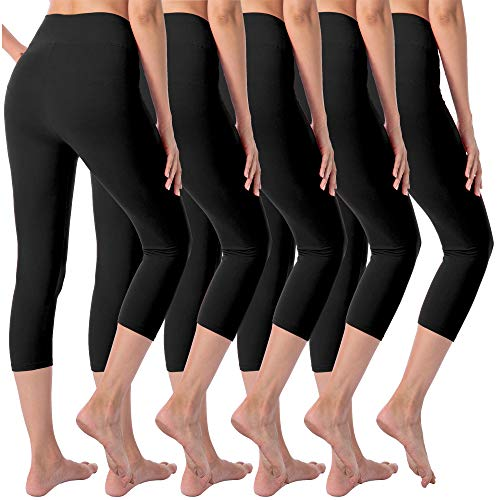 VALANDY Leggings for Women High Waisted Tummy Control Workout Running Yoga Pants Plus Size & One Size