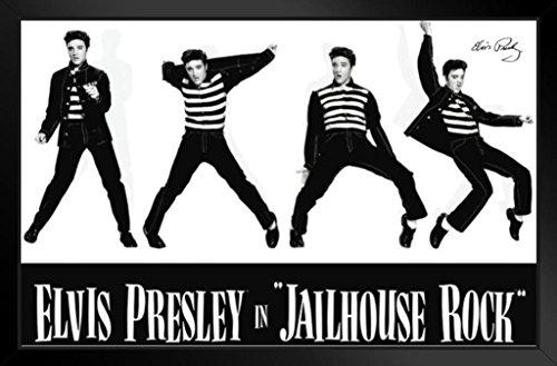 - Pyramid America Elvis Presley Jailhouse Rock Framed Poster 14x20 inch