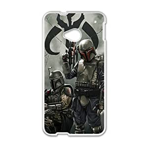 Star Wars Mandalorian Cell Phone Case for HTC One M7
