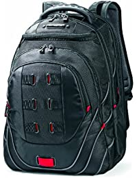 Luggage Tectonic Backpack, Black/Red, One Size